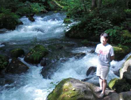 奥入瀬渓流、阿修羅の流れ