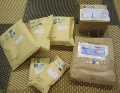 本日の郵便物