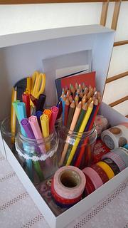 マステ色鉛筆