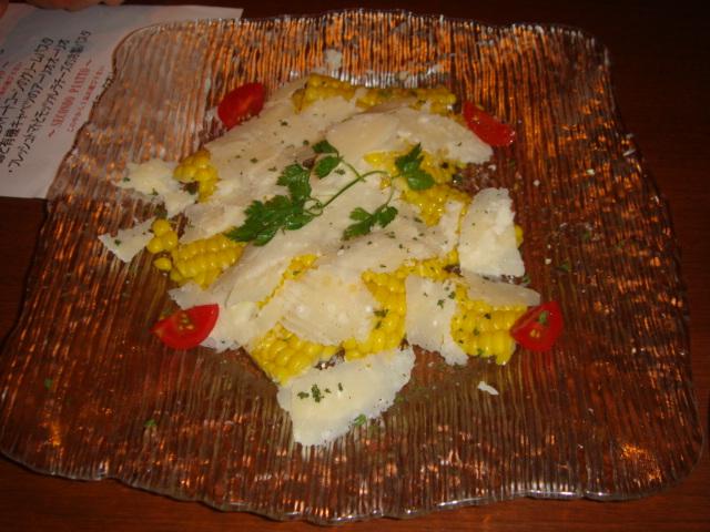 スイートコーンのサラダ