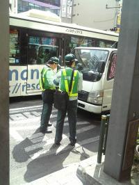 新宿駐車監視員1