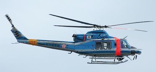 なぜか岐阜県警のヘリ
