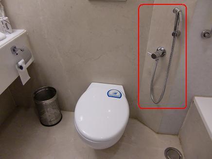 4 3日目のホテルのトイレ
