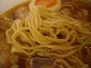 麺処まるは 中華そば(麺)