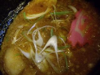 SAPPORO麺屋ZERO 味噌つけ麺(つけ汁)