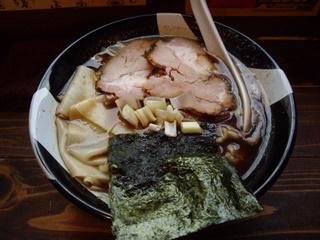 新宿ゴールデン街 凪 煮干ラーメン