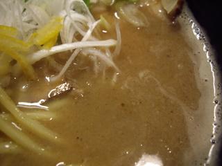 麺や 楓雅 Noodle shop FUGA 豚骨魚介らーめん(スープ)