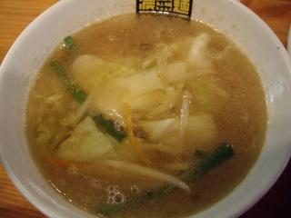 濃菜麺井の庄 濃菜つけ麺(つけ汁)
