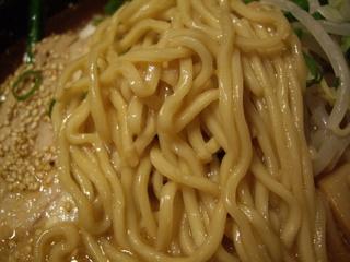 らぁめん 金みそ商店 金味噌らぁめん(麺)