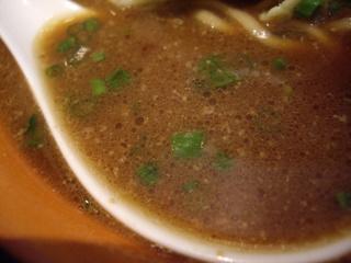 麺や虎鉄 豚そば醤油(スープ)