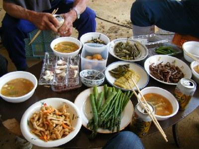 山菜フルコース
