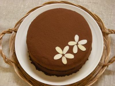 誕生日のチョコケーキ♪_convert_20090507190634