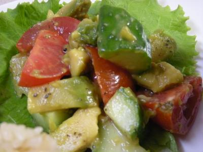アボカドとトマトのサラダ_convert_20090530173452