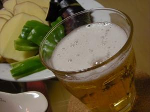 ビールと追加野菜~_convert_20090601110659