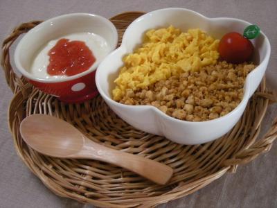 豆腐そぼろで朝ごはん2_convert_20090713105151