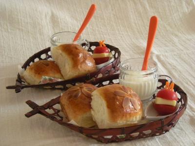 ちぎりチョコクリームパンで朝ごはん_convert_20090718172432