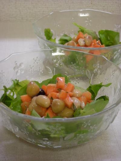 にんじんとお豆のレモングラスサラダ2_convert_20090718173449