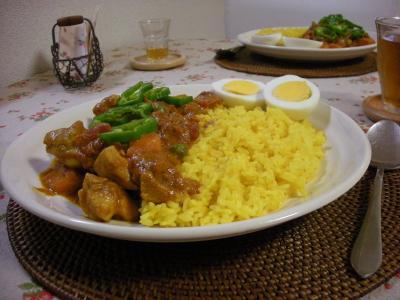 ベジチキンカレーの食卓_convert_20090727115236
