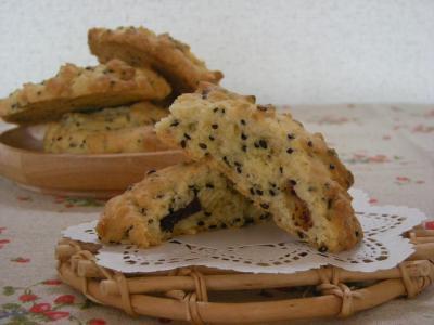 ごまチョコクッキー_convert_20090729102355