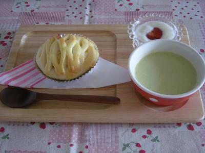 パンとポタージュで朝ごはん_convert_20090730175444