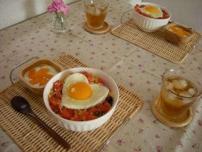 タコライス丼でブランチ2_convert_20090816134551