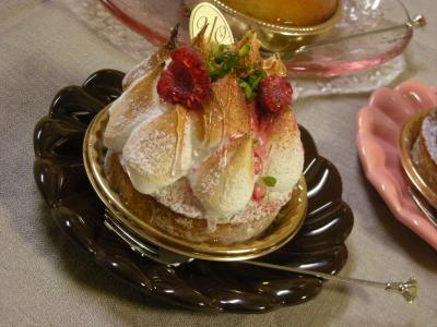 お土産ケーキ☆レモンのタルト_convert_20090830124229