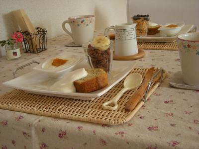 バターケーキプレートで朝ごはん_convert_20090905102915