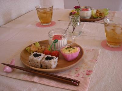 お弁当の残りで朝ごはん3_convert_20090911103009
