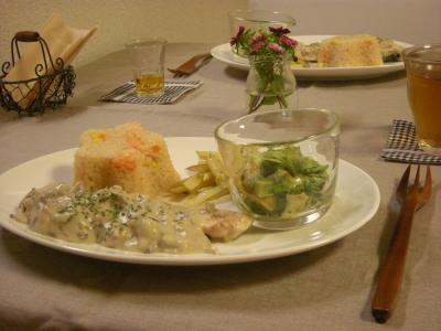 秋鮭のクリーム煮ディナー_convert_20090915103514