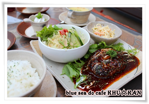 blue sea do cafe KHU☆KAN