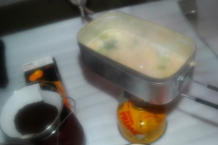 20111127-02かに雑炊とコーヒー