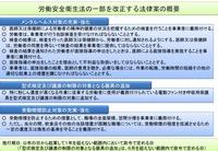 20111208労働安全衛生法の一部を改正する法律案の概要