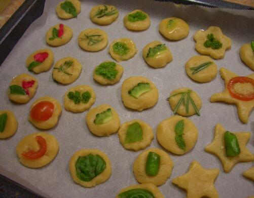 クッキー焼く前