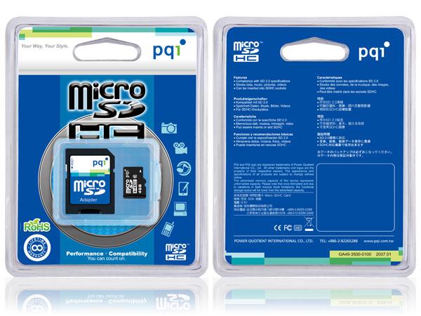 次のmicroSDHC4GB