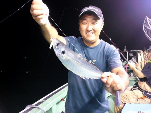 日本海 アジ釣り
