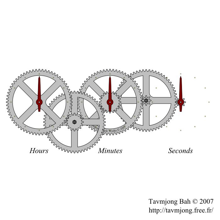ギャラリー画像6_歯車時計