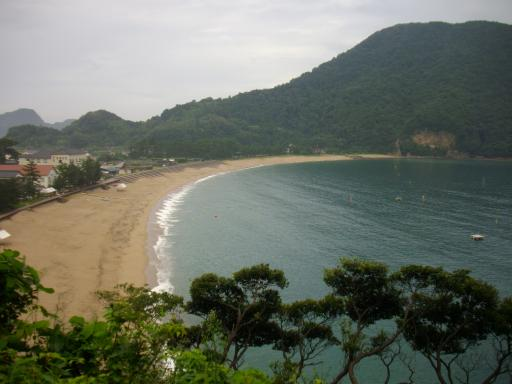 きれいな海岸線