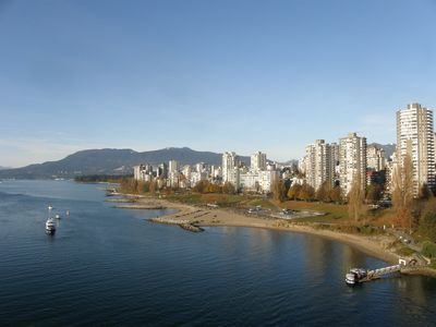 from Burrard Bridge