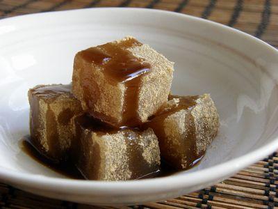 わらび餅 with 黒蜜