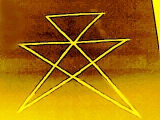 裏の六方星