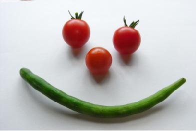 トマト収穫 090810