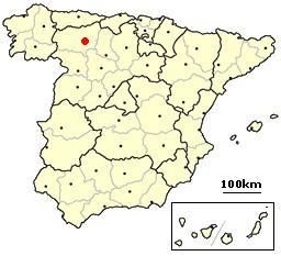 B Leon,_Spain_location