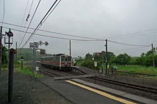 塘路駅列車