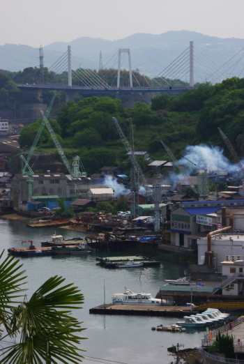 造船所としまなみ海道