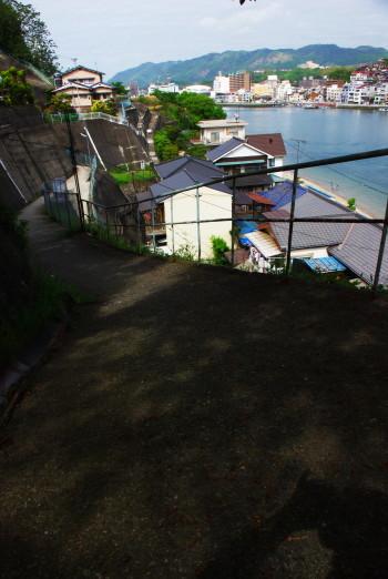 向島の坂道