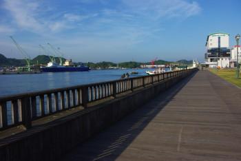 尾道 港の遊歩道
