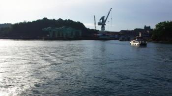 尾道 向島渡船とドッグ