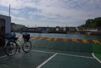 尾道 渡船自転車