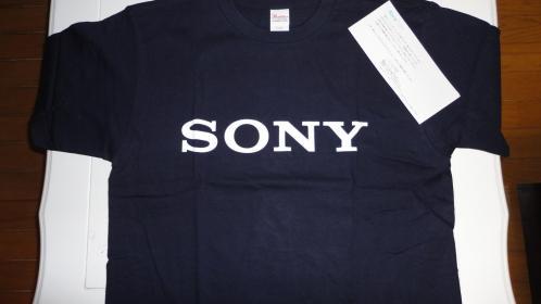 ソニーTシャツ1