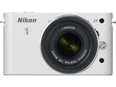 Nikon 1 J1 front